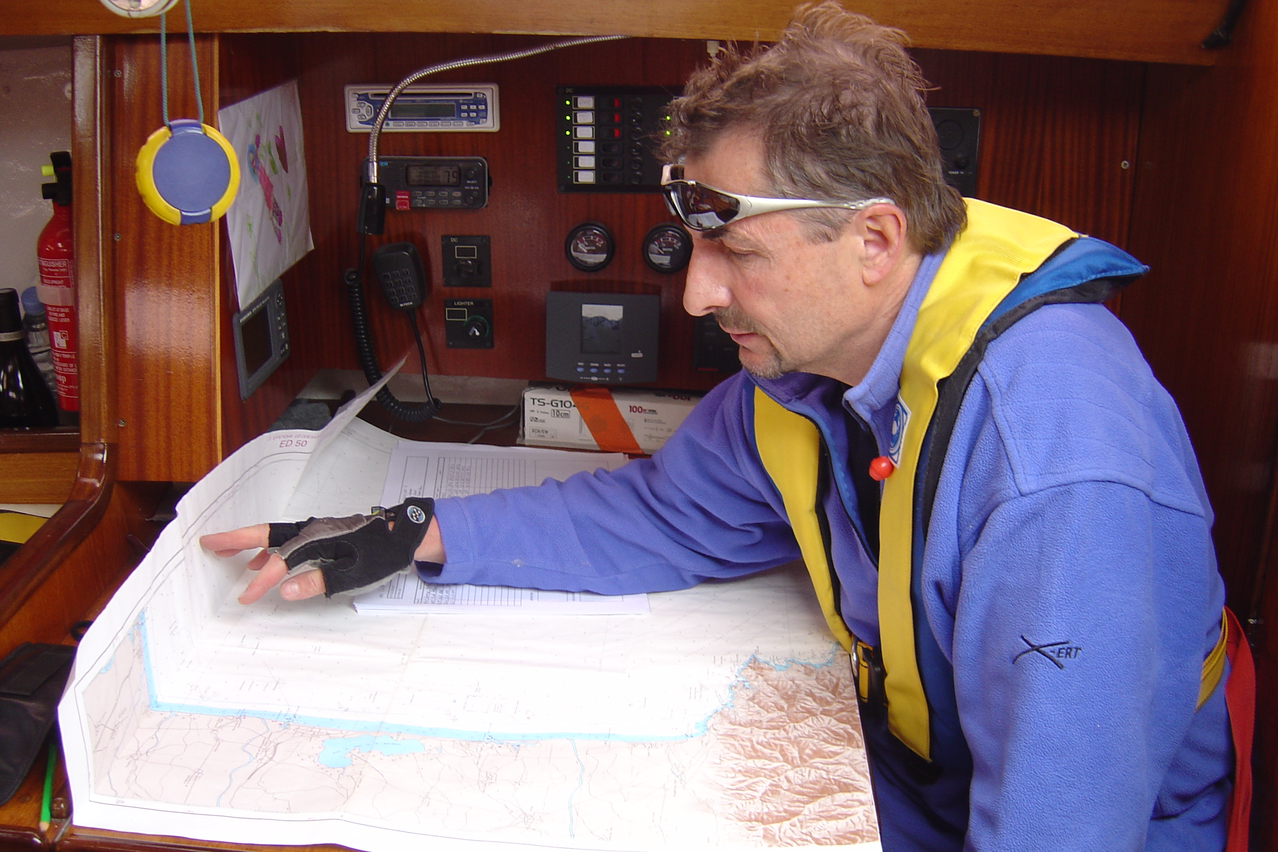 PREPARATION A LA NAVIGATION EN SOLITAIRE